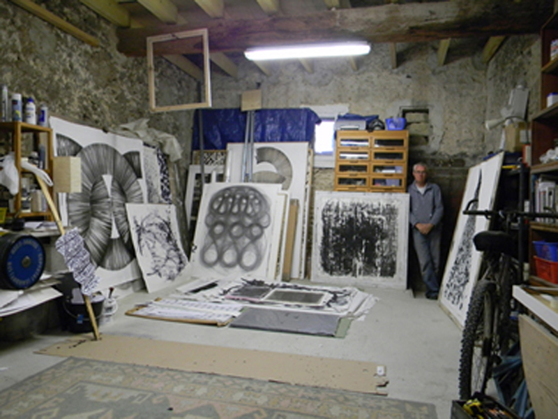 Nigel's Studio, France