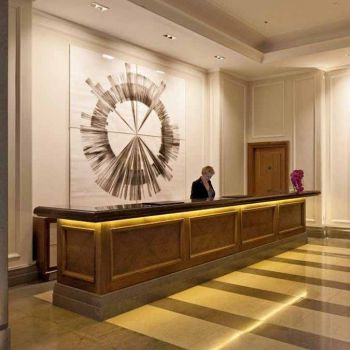 LANDMARKS in the Corinthia Hotel, London.